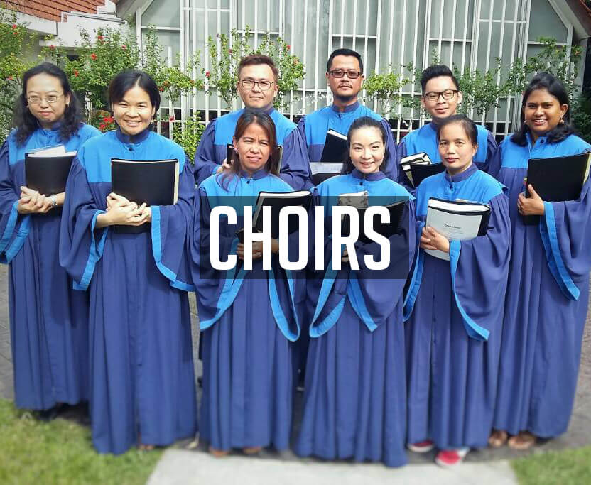 Choirs, St Mary's Cathedral, Kuala Lumpur