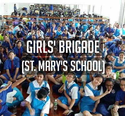 Girls' Brigade, St Mary's Cathedral, Kuala Lumpur