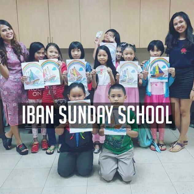 Iban Sunday School, St Mary's Cathedral, Kuala Lumpur