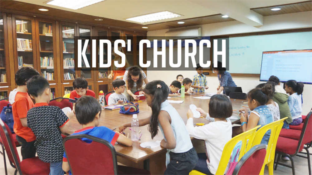 Kids' Church, St Mary's Cathedral, Kuala Lumpur