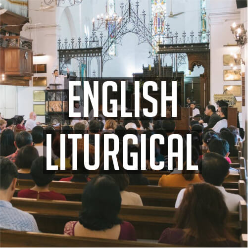 English Liturgical services at St Mary's Cathedral, Kuala Lumpur