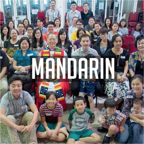 Mandarin service at St Mary's Cathedral, Kuala Lumpur
