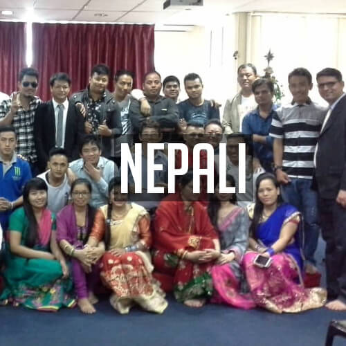 Nepali services at St Mary's Cathedral, Kuala Lumpur