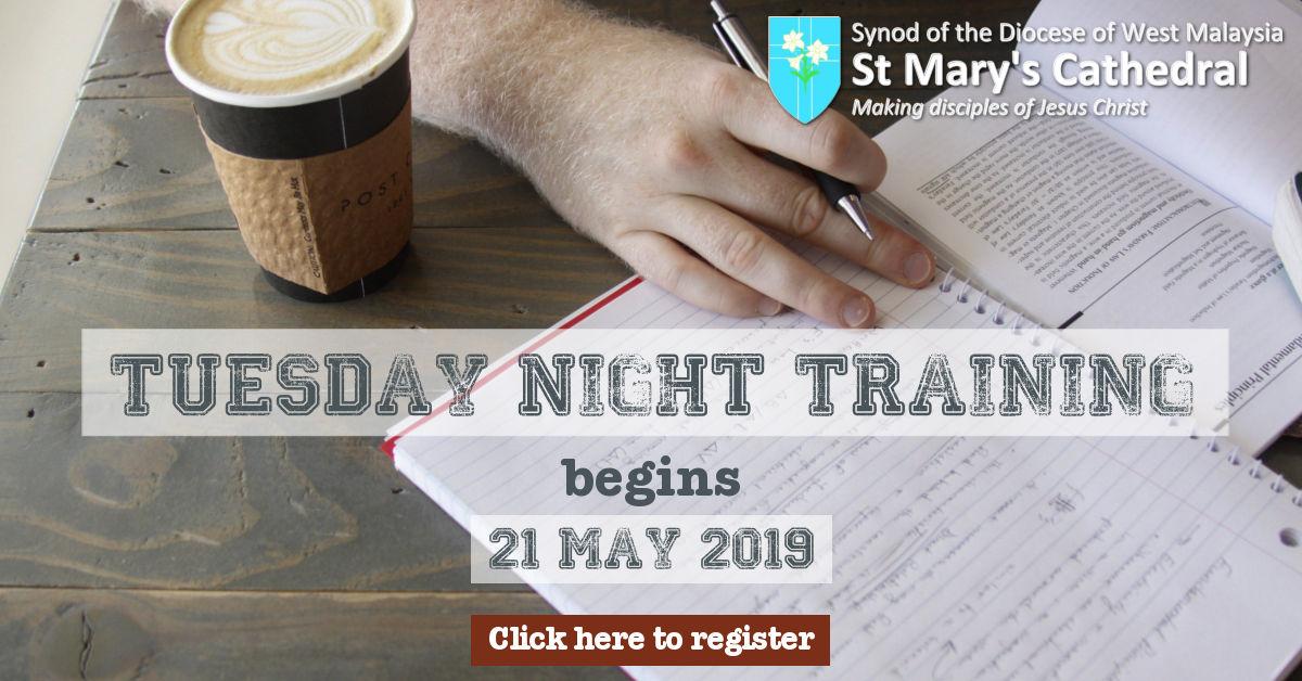Tuesday Night Training